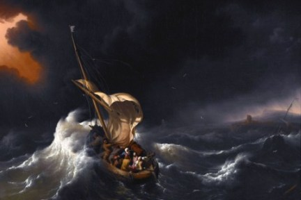 Christ in the Storm on the Sea of Galilee Ludolf Backhuysen, 1695